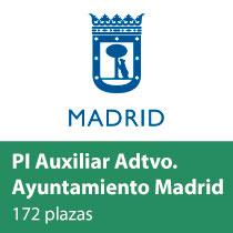 PI Auxiliar Administrativo Ayuntamiento Madrid
